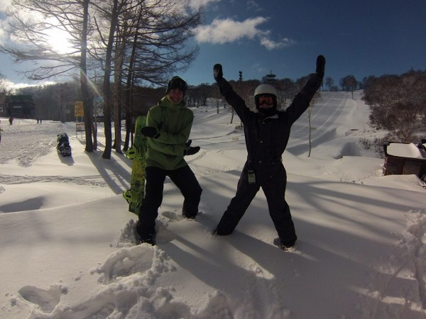 November 30th 2013. The Snow Season in Nozawa Onsen begins. What a magic day to get it underway..