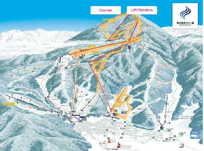 Runs and Lifts on offer this weekend in Nozawa. Wont be long until all go
