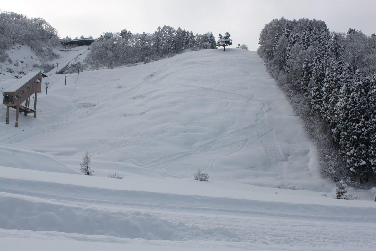 This slope just above Kaiya Nozawa called Mukobayashi. Steep and Deep one of my favourite runs!