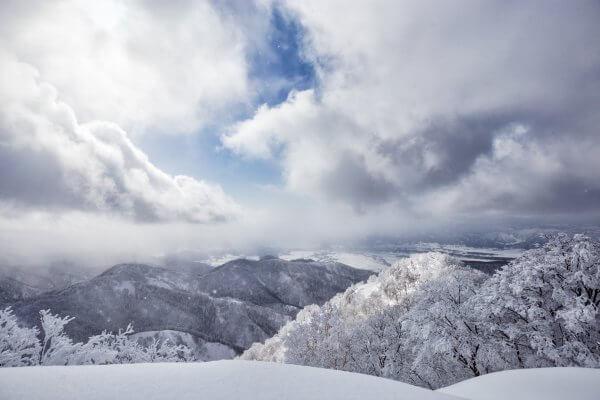 Cloudscape over Iiyama