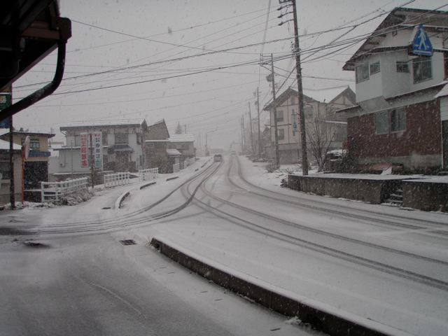 Nozawa Onsen First Fall of Snow