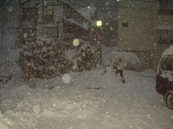 Blizzard in Nozawa