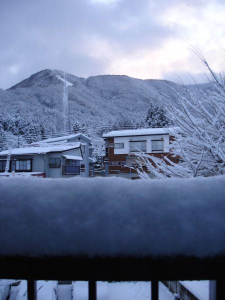 15cm of Fresh Snow at Lodge Nagano overnight