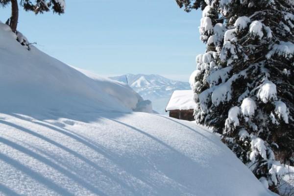 Madaroa Ski Resort looking from Nozawa Onsen