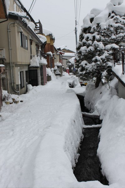 Nozawa Onsen back streets great place to get lost for a while