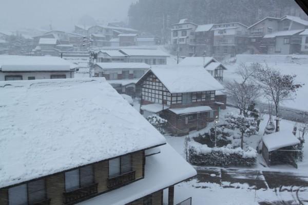 Snow Storm in Nozawa