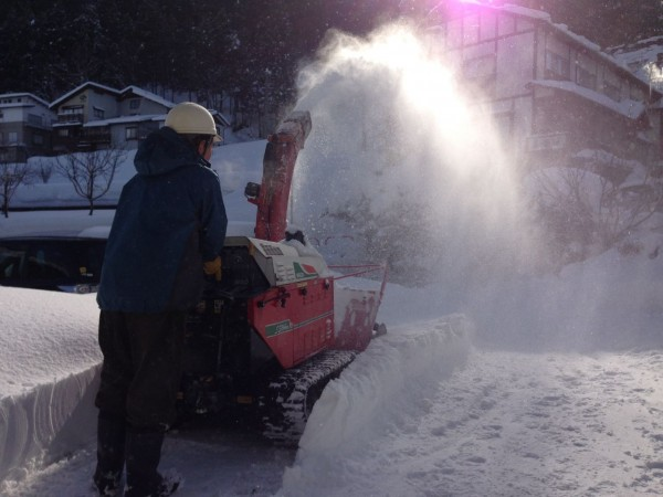 Three Days in a row of 30cm plus falls in Nozawa Onsen. March delivers...