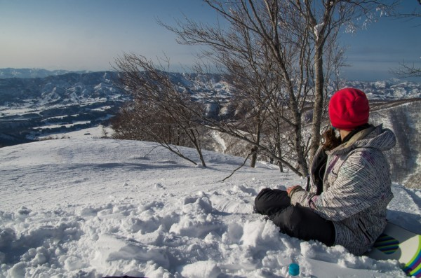March views in Nozawa