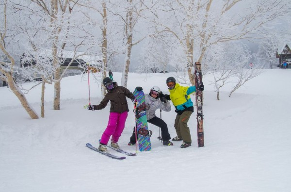 Big smiles all round in Nozawa as March delivers some of the best of teh season!