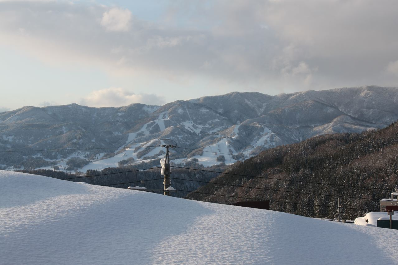 Big change in just a few short days in Nozawa
