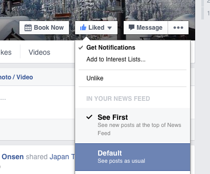 Be sure to Get Notifications so can see us on Facebook and keep up to date with snow conditions in Nozawa Onsen
