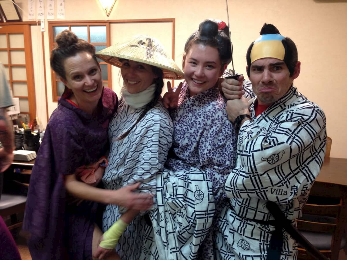 All smiles and styles a big arigatou from the Lodge Nagano team to all