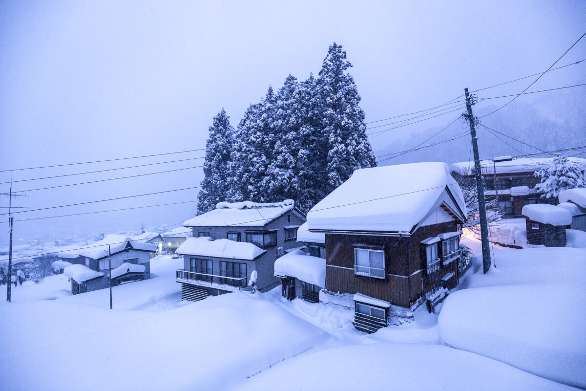 View from the toilet, Nozawa Onsen.