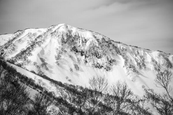 Some amazing and dangerous alpine terrain not far from Nozawa Onsen
