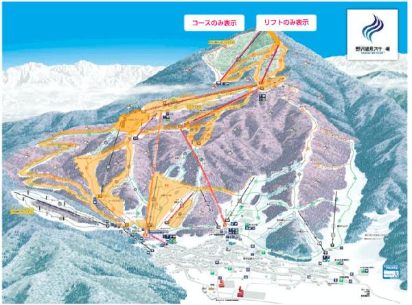 Spring Snow for Nozawa Onsen